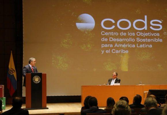 Llega a Colombia el Centro de los Objetivos del Desarrollo Sostenible