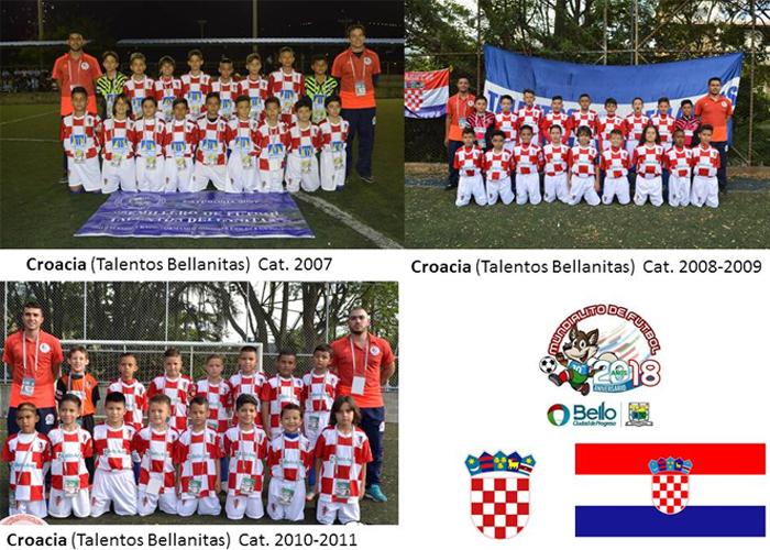 Croacia en el Mundialito de Bello, con talento y puntaje perfecto