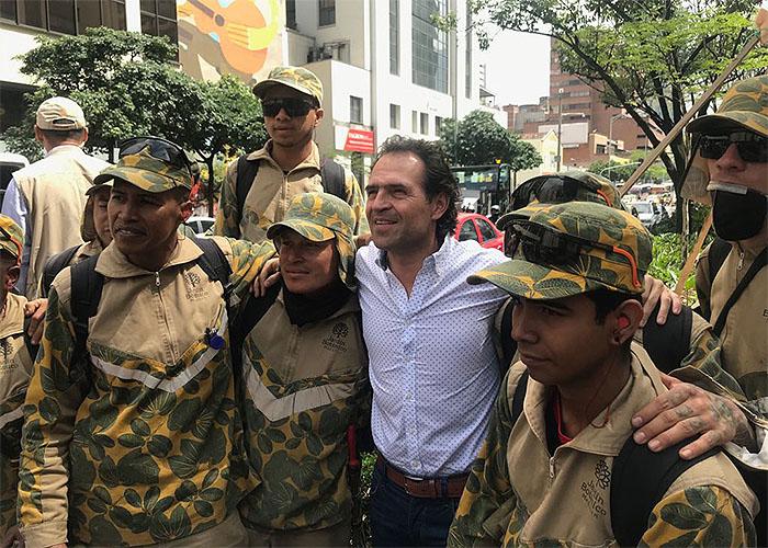 Reverdece la Avenida Oriental en Medellín