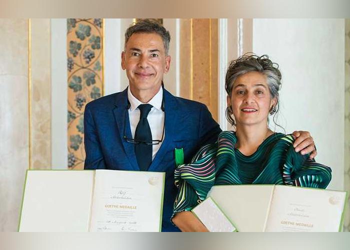 Por primera vez colombianos reciben la Medalla Goethe
