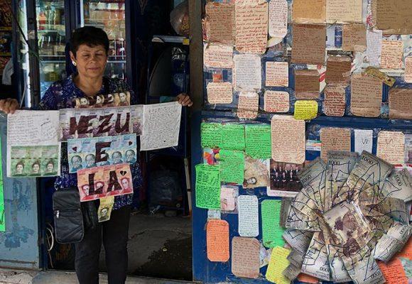 El muro de los lamentos de los migrantes venezolanos