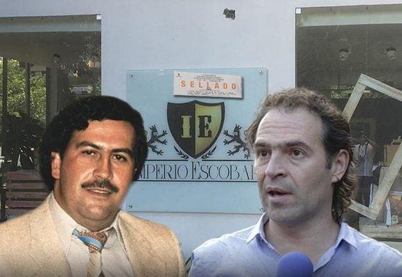 El derrumbe del museo Pablo Escobar en Medellín