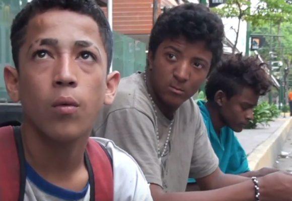 El hambre se apodera de los niños en Venezuela
