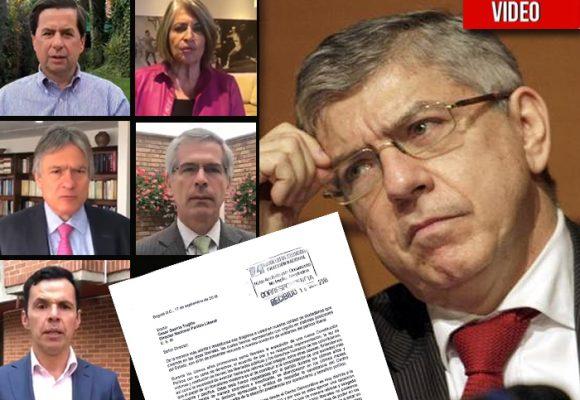 VIDEO: César Gaviria enfrenta la peor crisis liberal de su historia