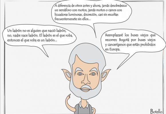 Caricatura: el monólogo de Peñalosa