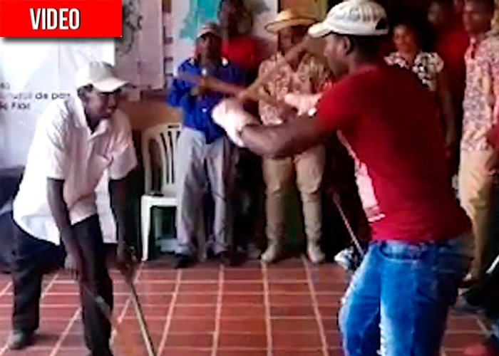 Grima, el arte de pelear con machete