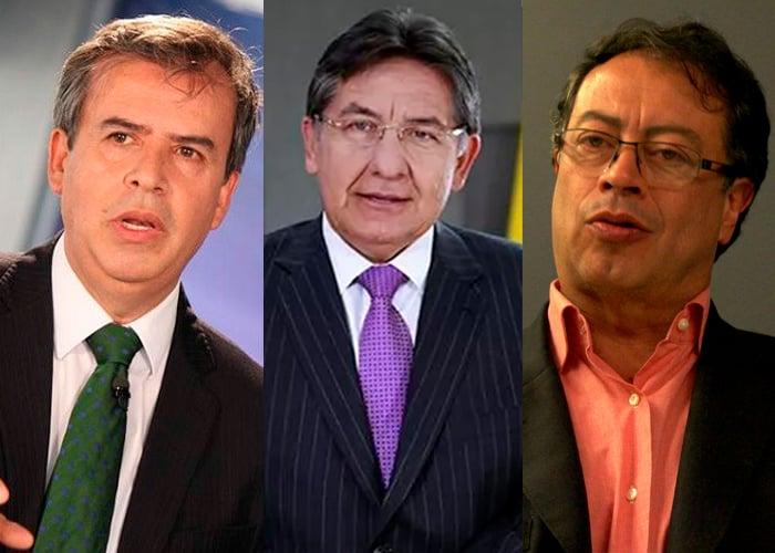 Cuando Alex Vernot, el Fiscal Martinez y Gustavo Petro hacían equipo