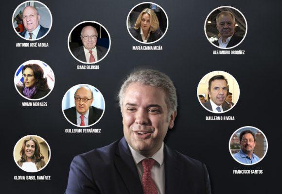 Embajadores en países claves: favores de campaña