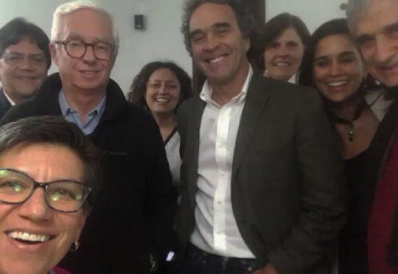 El reencuentro de Fajardo con Claudia López y Robledo