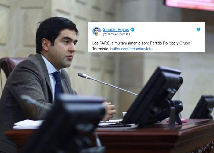 La temeraria denuncia de las Farc en contra de Samuel Hoyos