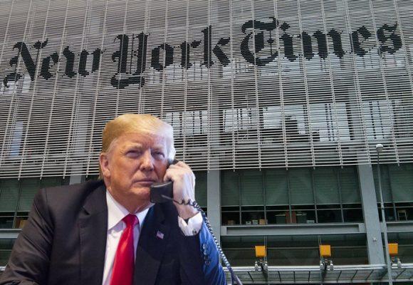 Trump o el anónimo: el histrión burlado