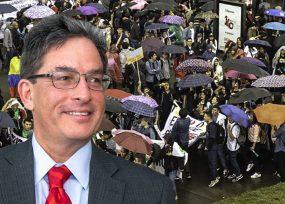 Carrasquilla aflojó $ 500 mil millones para la educacion, lejos de lo que piden los estudiantes