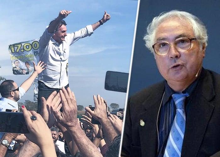 Alarma de los intelectuales del mundo por la llegada de Bolsonaro en Brasil