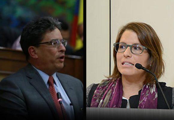 Timonazo de Juanita Goebertus por la moción a Carrasquilla