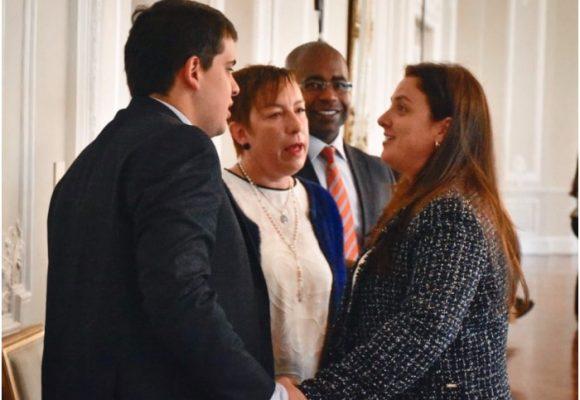 Claudia Ortiz arrancó en Palacio sin cargo oficial