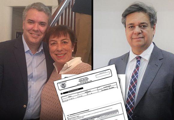 Un presidente obsesionado con emplear a Claudia Ortiz