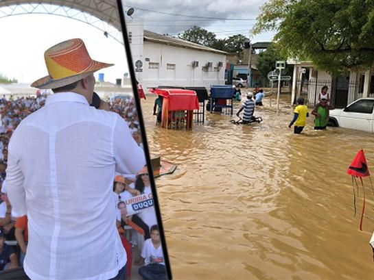 El desierto inundado de Uribia que recibió a Duque