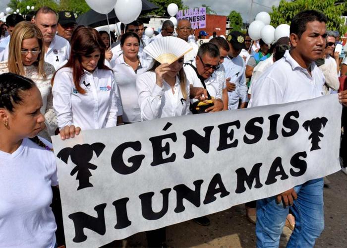 Violación y asesinato de Génesis, nuestro apocalipsis