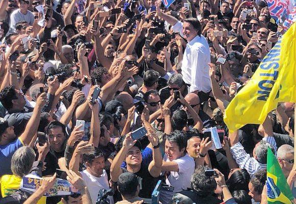 Barrió  el exmilitar Bolsonaro pero no le dio para ganar la presidencia del Brasil