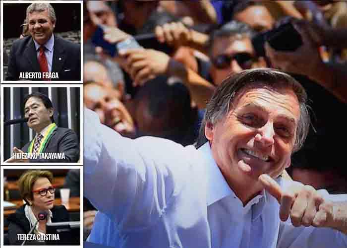 Los tres aliados de Bolsonaro para gobernar