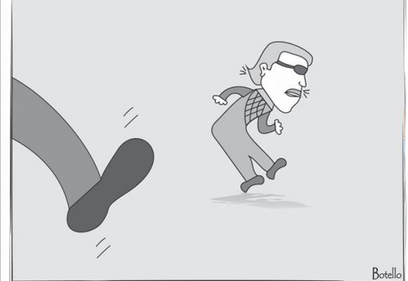 Caricatura: niegan libertad a Santrich