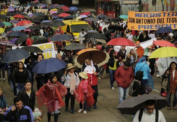 Octubre: marchas, universidades y presupuestos