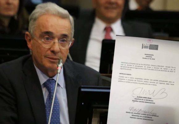 Uribe le mete mano al presupuesto nacional para atajar la mermelada