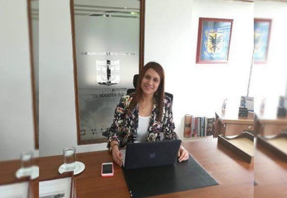 Alcaldesa de Teusaquillo, una mujer de armas tomar