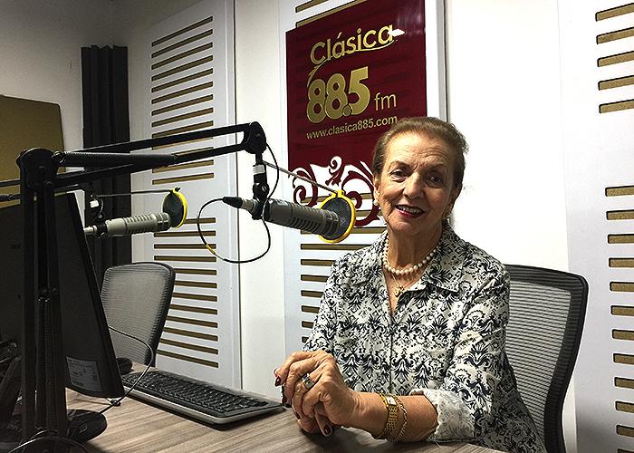 Cuarenta años de música en la Clásica 88.5 FM