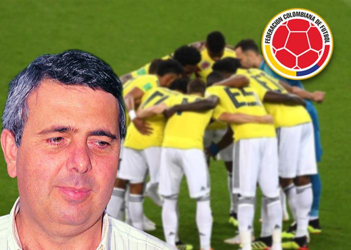 La mano de Juan José Bellini en la Federación del Futbol colombiano