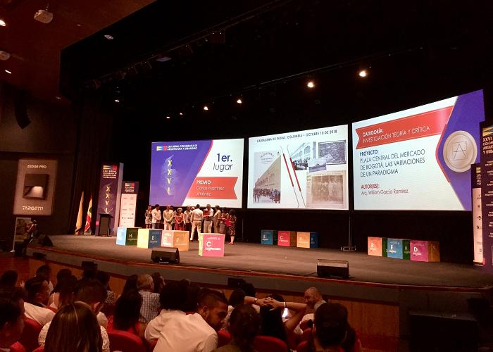 Libro sobre primera plaza cubierta de mercado de Colombia recibe premio en bienal de arquitectura