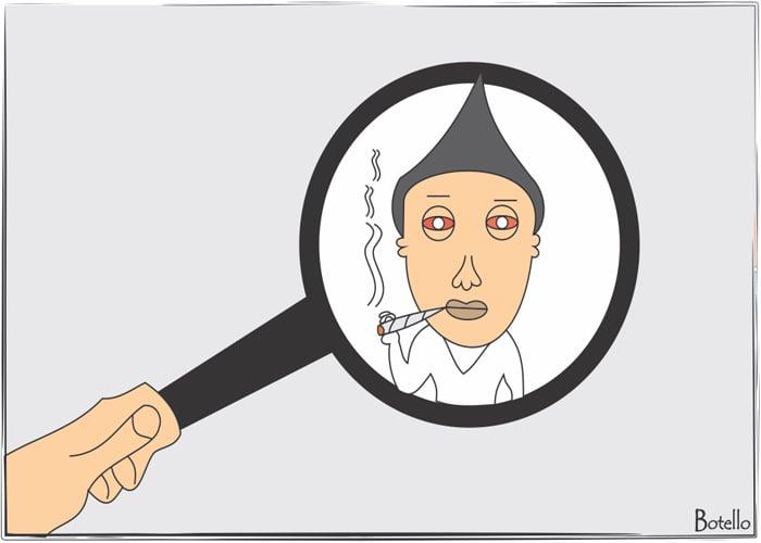 Caricatura: consumidores en la mira