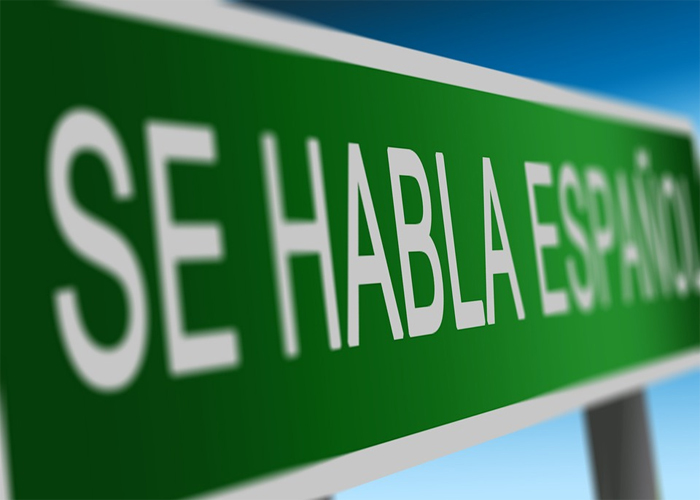 ¡Nuestro idioma es el castellano!