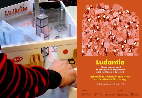 Inició Ludantia, la primera bienal de educación en arquitectura para niños y jóvenes