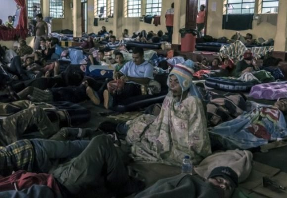 Los fantasmas hondureños que marchan hacia USA