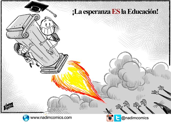 ¡La esperanza ES la Educación!
