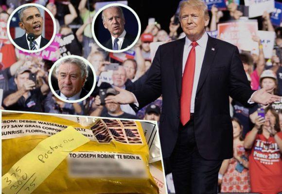 Los paquetes bomba que tienen en alarma a Trump