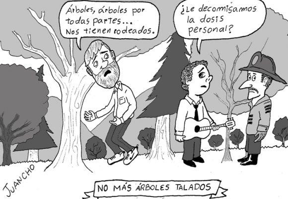 Caricatura: el alcalde perdido