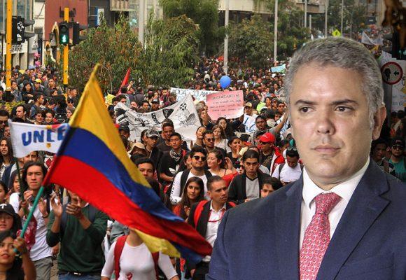 La marcha #SOSUniversidadPública le mide el aceite a Duque