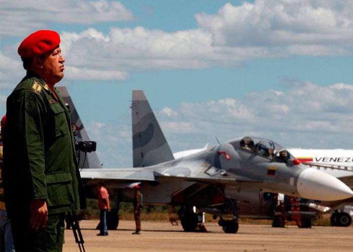 Los aviones de guerra con los que Venezuela aplastaría a Colombia