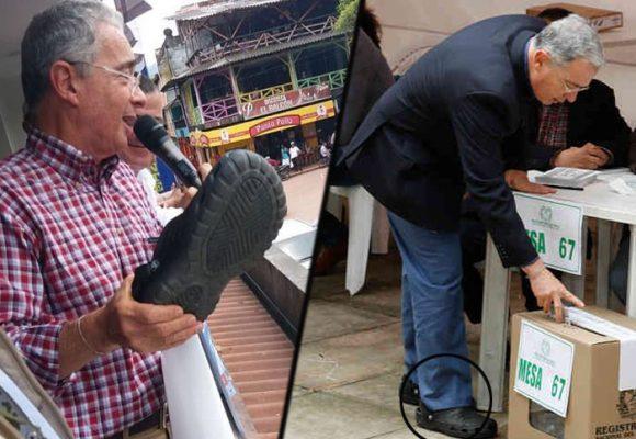 Se le salvaron los Crocs a Uribe