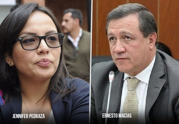 El intento del presidente Macías por callar a la líder estudiantil en el Congreso