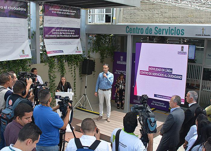 Más tecnología para acabar las filas en Medellín
