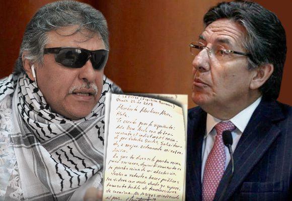 """""""Reflexiona, deja de ser farsante"""", le dice Santrich al Fiscal"""