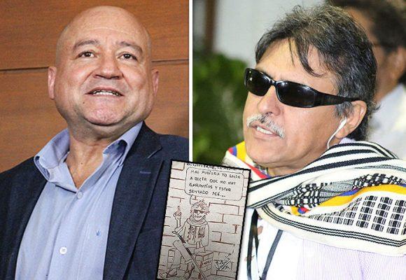 Santrich vs Lozada: agarrón de pesos pesados de FARC