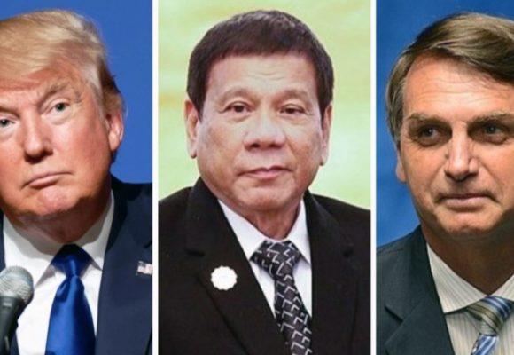 Trump, Duterte, Bolsonaro: luz verde a la violencia