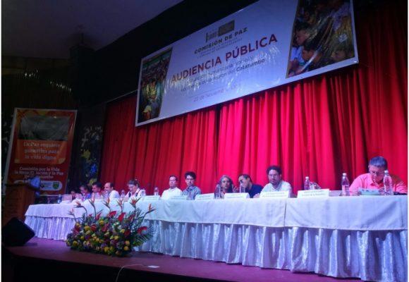 Molestia en Ocaña por ausencia del Gobierno Duque en audiencia pública