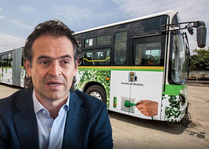 Federico Gutiérrez hizo lo que Peñalosa no pudo: buses eléctricos en su ciudad