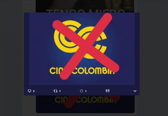 """""""No volveré a Cine Colombia"""": Boicot en redes"""