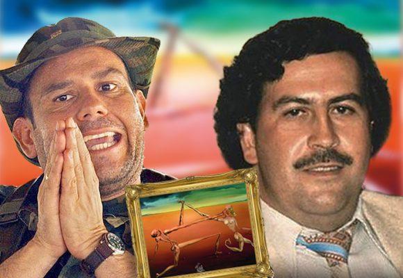 El raponazo de Carlos Castaño a Pablo Escobar: este cuadro de Dalí